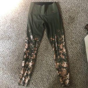 Puma metallic leggings
